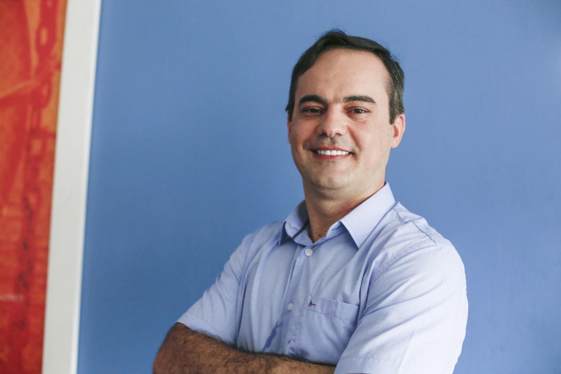 Capitão Wagner, pré-candidato a prefeitura de Fortaleza, foi entrevistano na rádio O POVO CBN