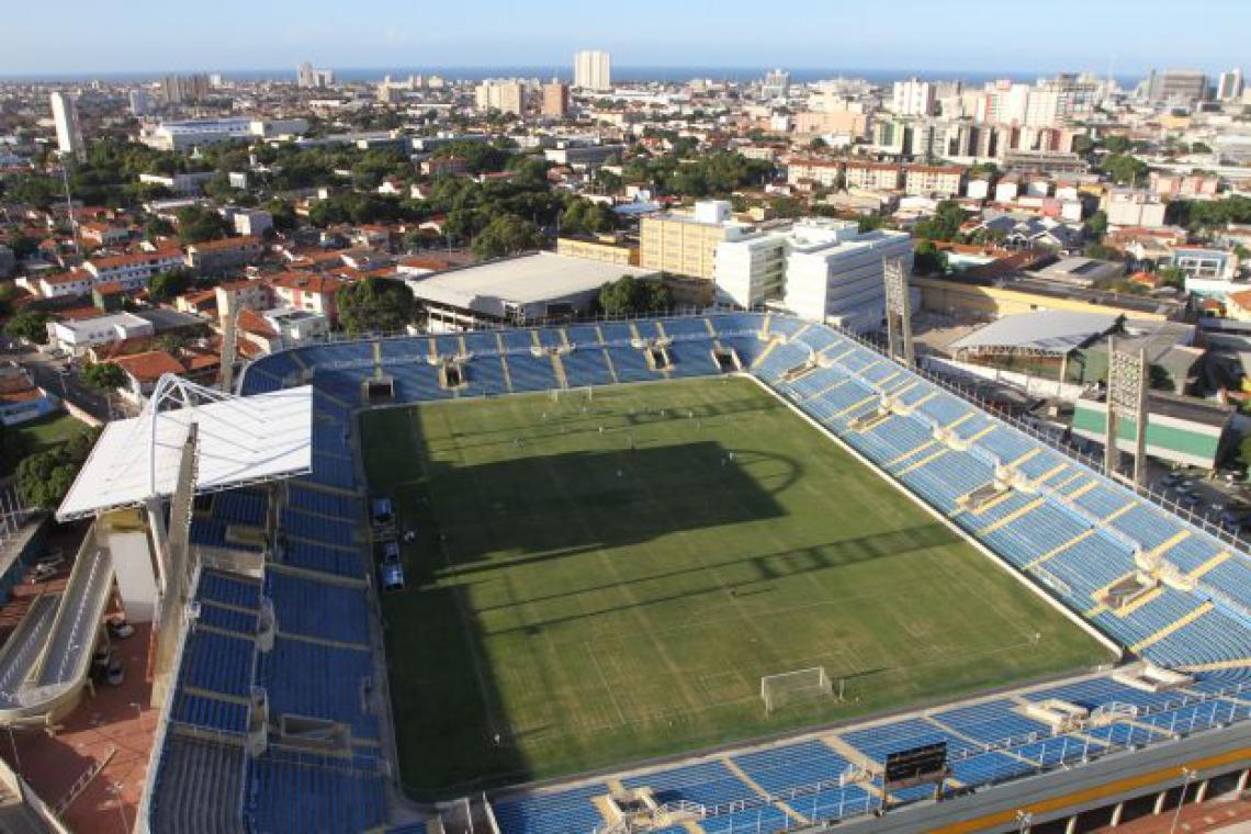 Estádio Presidente Vargas será palco de jogo-treino do Ceará que será realizado nesta sexta-feira, 17