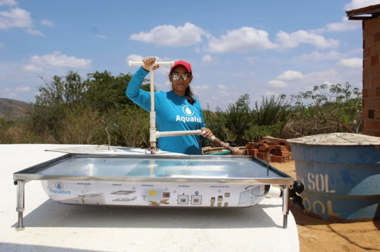 O objetivo é arrecadar R$ 200 mil para a instalação do Aqualuz e banheiros em Madagascar.
