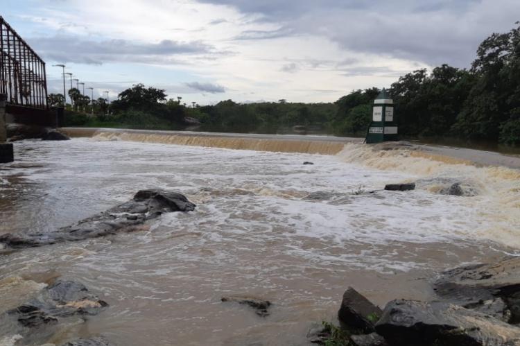 Barragem Lima Barreto município Granja (CE)