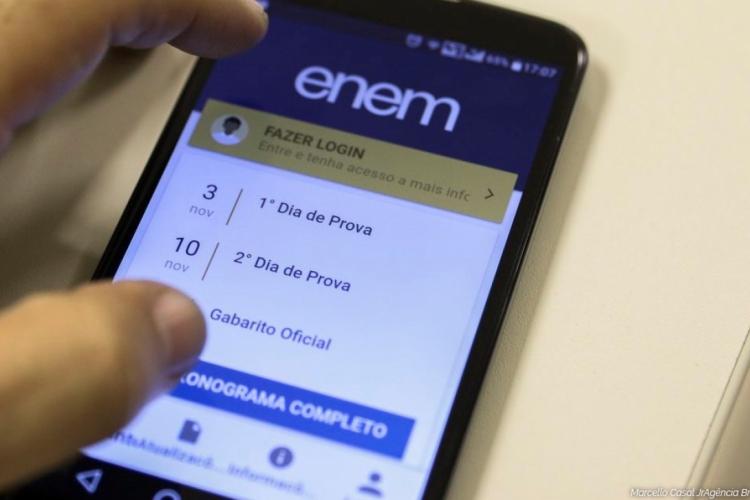 Caso o estudante esqueça a senha do Enem, o sistema permite recuperá-la; resultado do exame sai hoje, após as 18 horas (Foto: Divulgação)