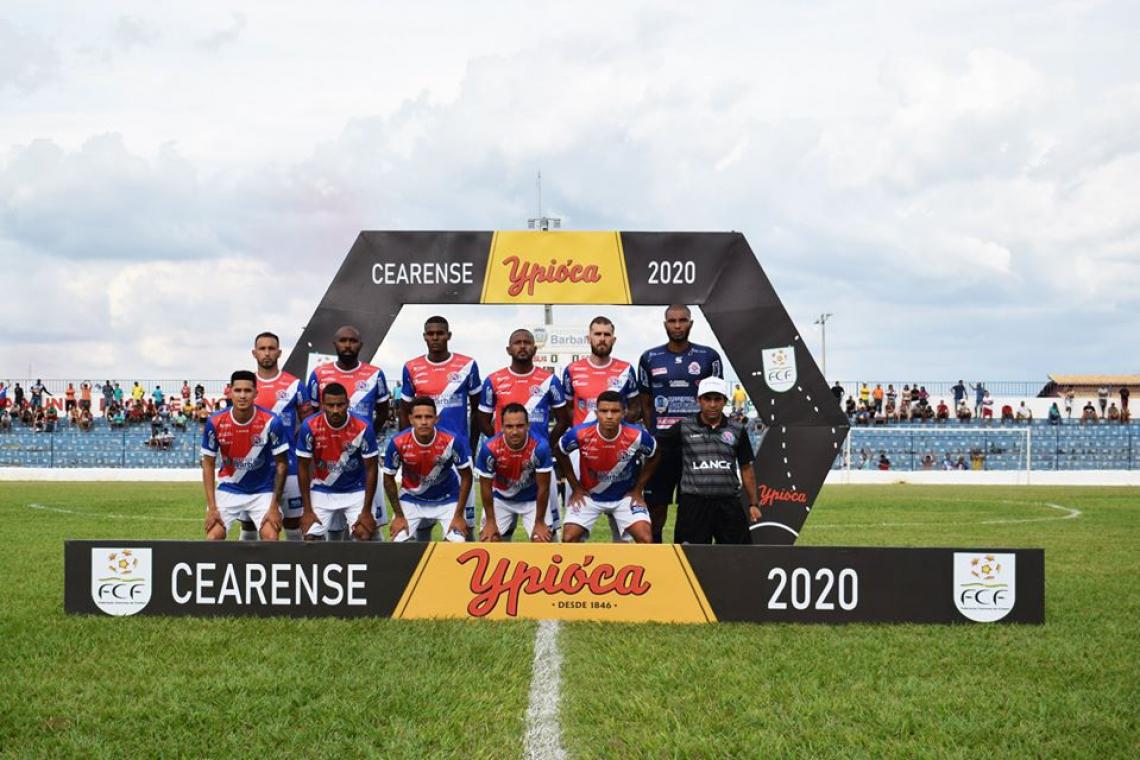 Barbalha venceu Atlético-CE e se mantém na luta pelo título da primeira fase do Campeonato Cearense