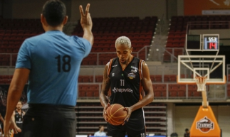 FORTALEZA - CE, BRASIL, 15-01-2020: Jogo basquete Cearense x Pinheiros no centro de formação olímpica CFO.  (Foto: Beatriz Boblitz / O Povo).