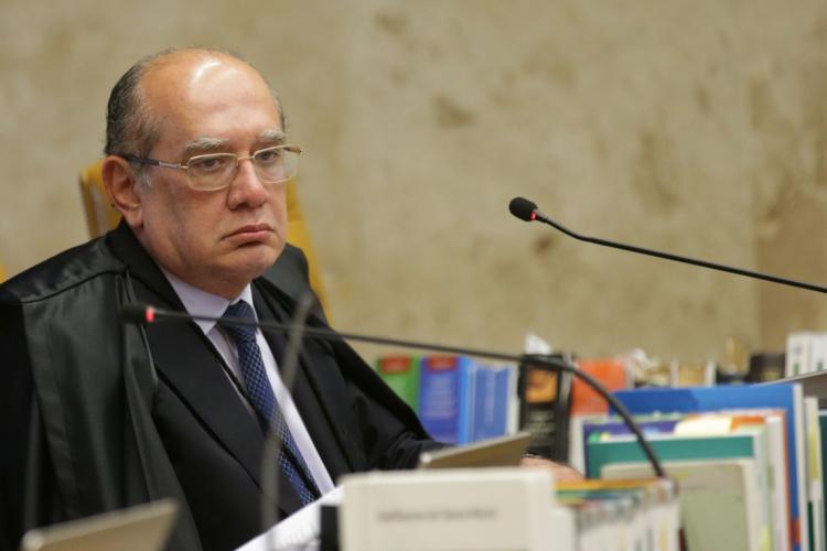 Ministro do Supremo Tribunal Federal (STF), Gilmar Mendes (Foto: Antonio Cruz/Agência Brasil)