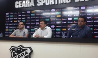 Jorge Macedo, Sérgio Dimas e Robinson de Castro trabalham para encontrar novo nome