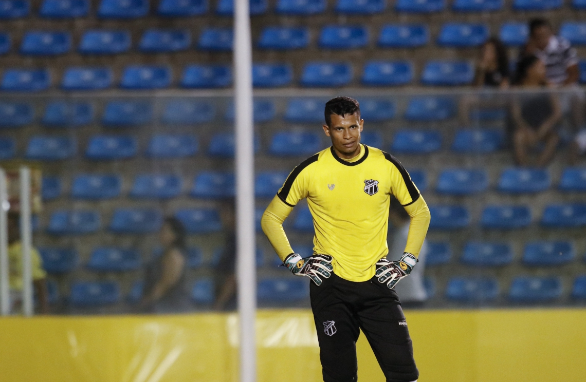 Contrato de Diogo Silva termina em maio e Ceará não deve renovar