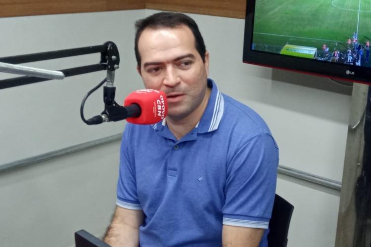 Marcelo Paz ressaltou a importância da ajuda dos torcedores neste momento  (Foto: Brenno Rebouças/O POVO)
