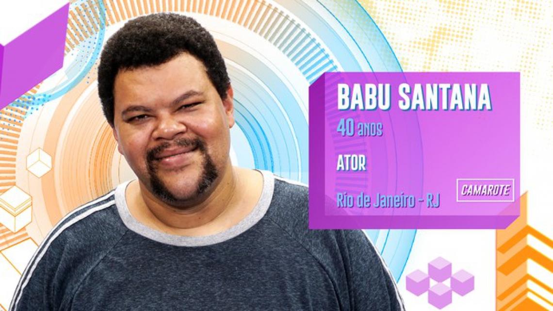 Babu Santana é ator