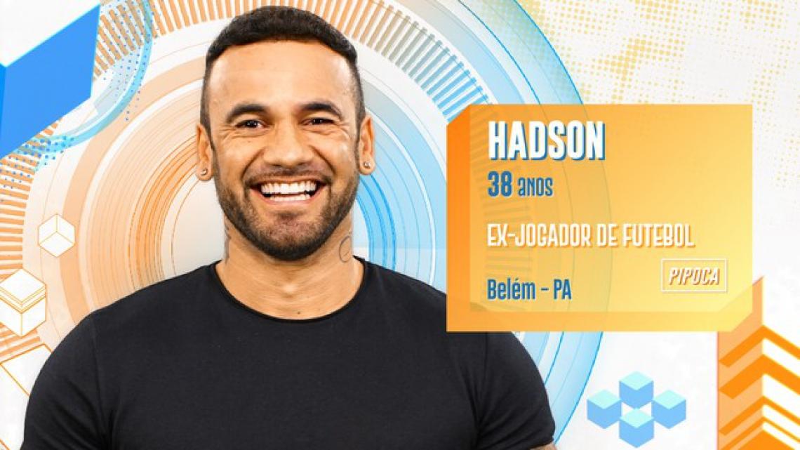 Hadson é participante do BBB20