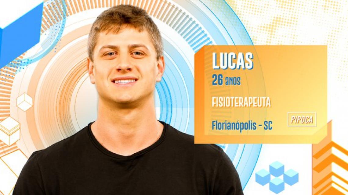 Lucas é participante do BBB20