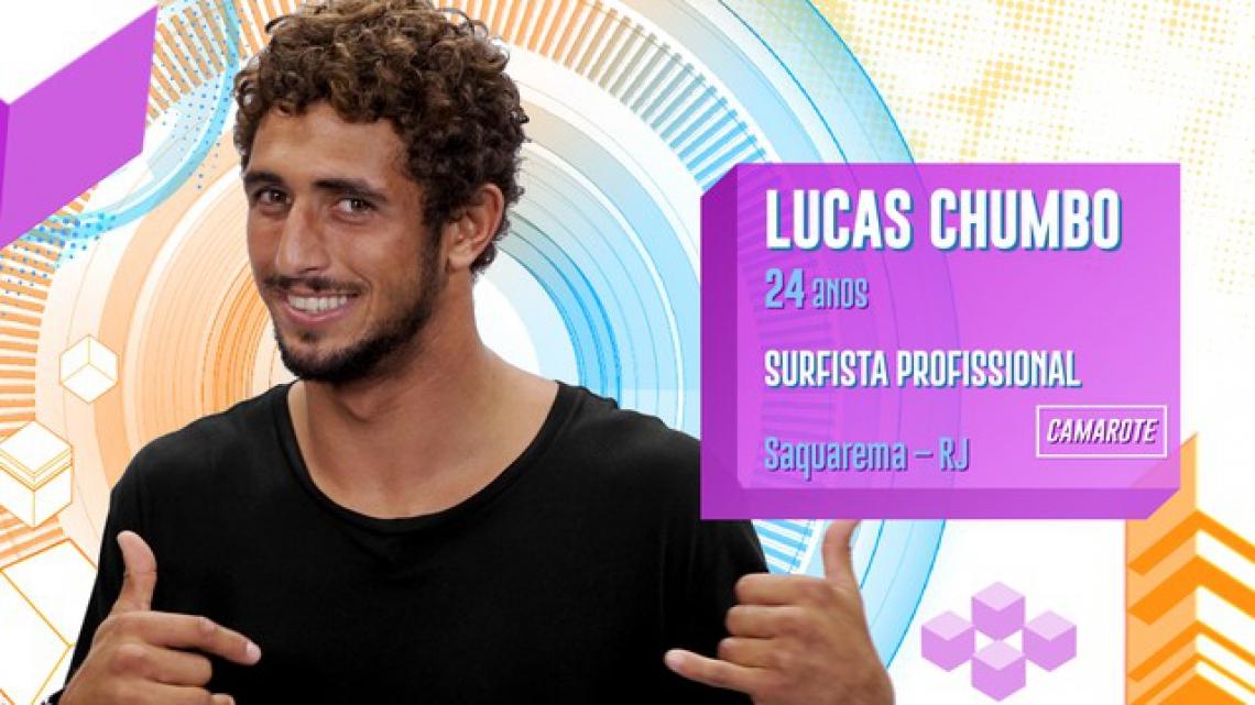 Lucas Chumbo é participante do BBB20