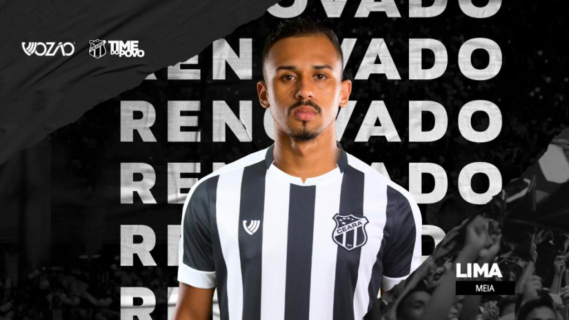 Lima renovou seu contrato de empréstimo com o Ceará para 2020