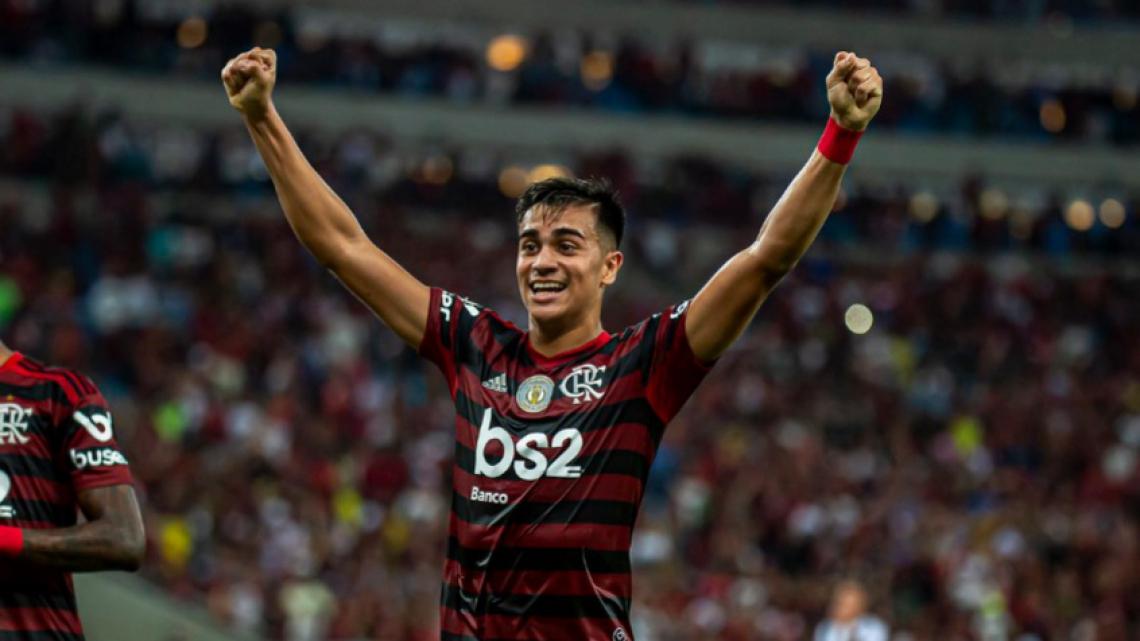 Reinier foi uma das revelações do time profissional do Flamengo em 2019.