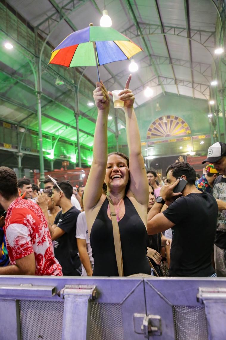 23 de fevereiro de 2019, Movimentação no pré-carnaval do mercado dos pinhões. (Foto Julio Caesar/O Povo)
