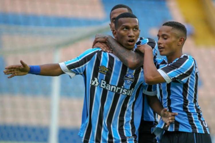 Léo Chú (foto) só entrou em campo pelo Ceará em duas oportunidades neste ano  (Foto: Guilherme Rodrigues / Grêmio/Divulgação)