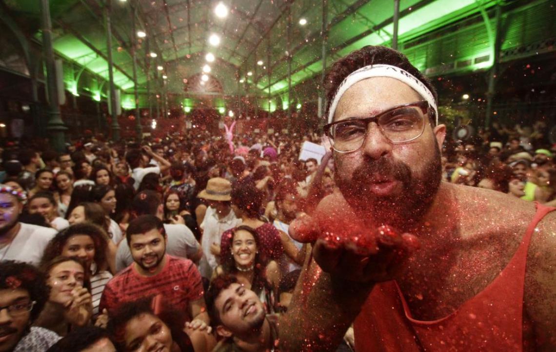 Mercado dos Pinhões é um dos 12 polos do Pré-Carnaval