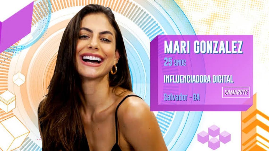 A influenciadora digital Mari venceu a prova do líder desta quinta-feira, 16