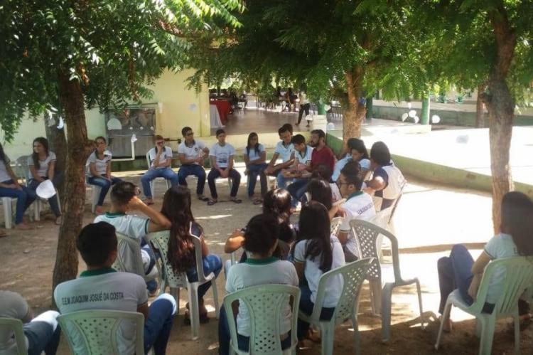 Escola realizou projetos literários e oficinas semanais