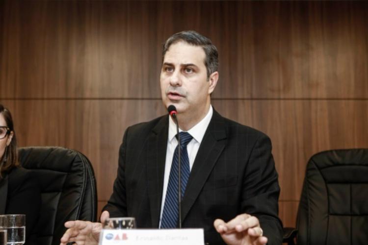 """Presidente da OAB-CE, Erinaldo Dantas, anuncia """"junta de notáveis"""" para comissão técnica que vai sugerir medidas de atuação da Justiça em meio ao Covid-19. (Foto: DIVULGAÇÃO)"""