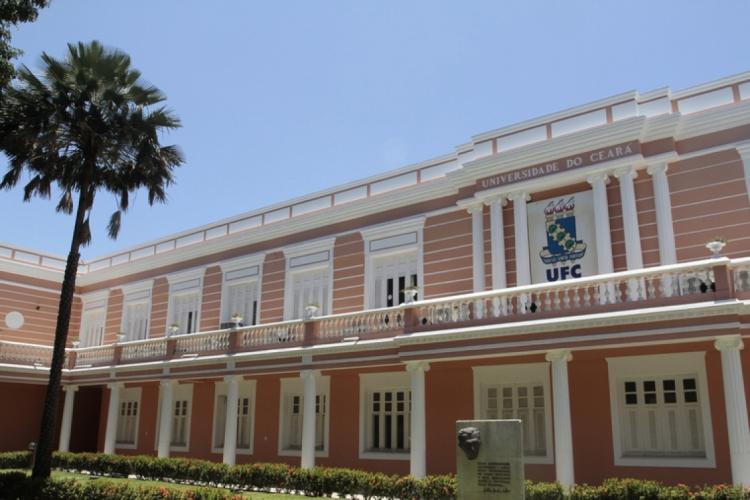Reitoria da Universidade Federal do Ceará (Foto: Iana Soares/O POVO.doc)