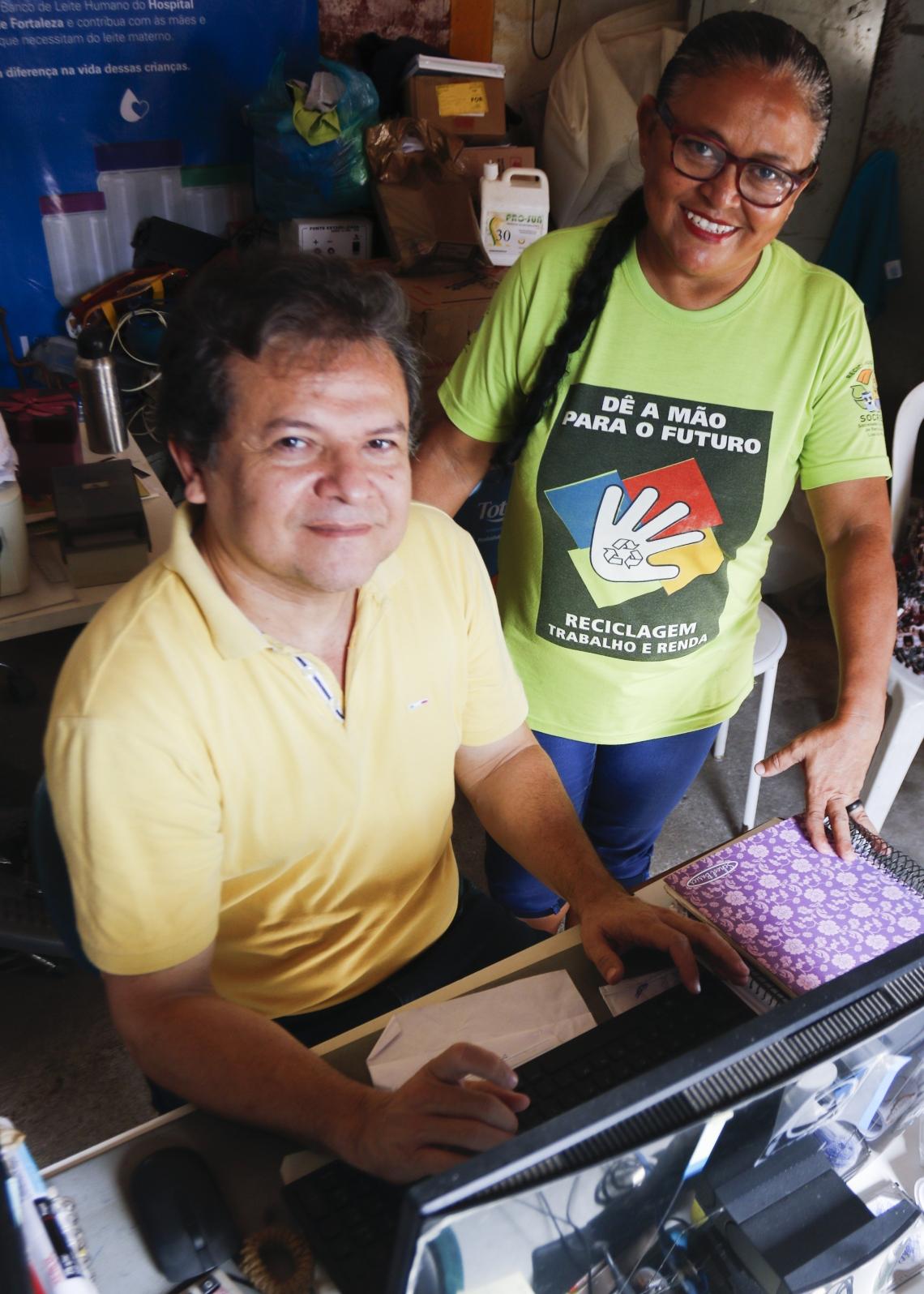 JANETE CABRAL Alves e Sérgio Clério falam sobre a utilização do programa da empresa Selletiva