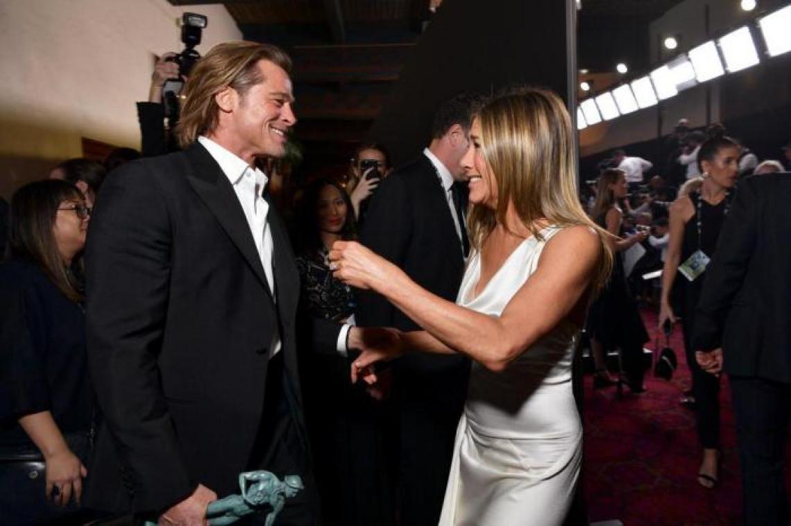 Reencontro de Brad Pitt e Jennifer Aniston no último domingo, 19, reacende especulações sobre reconciliação do ex-casal.