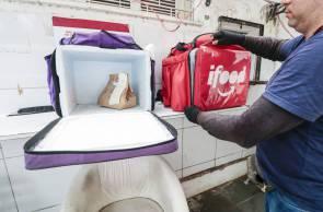 FORTALEZA, CE, BRASIL, 28-01-2020: Mudanças no mercado com o aumento dos aplicativos de delivery. Estabelecimento Delivery Menu.  (Foto: Thais Mesquita/O POVO)