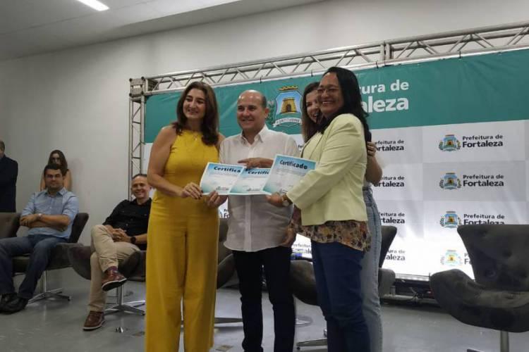 98 novos termos de colaboração foram assinados pela Prefeitura para o gerenciamento de unidade da Rede Municipal de Ensino no ano letivo de 2020. (Foto: Marília Freitas/Especial para O POVO)