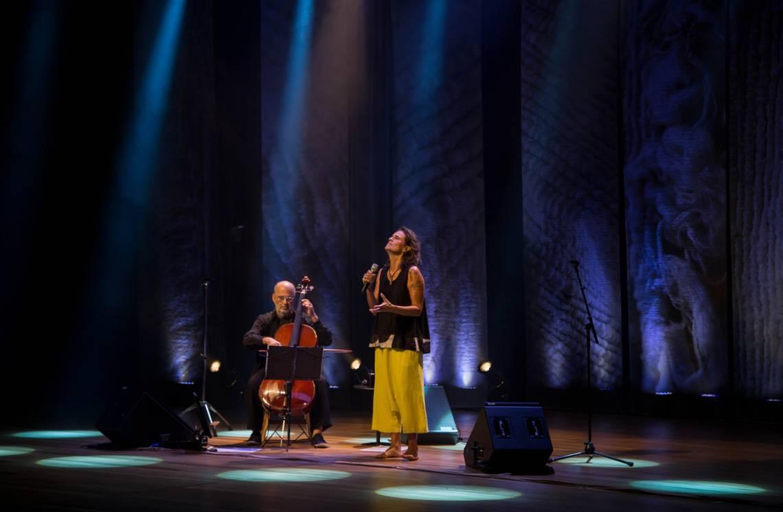Zélia Duncan e Jaques Morelenbaum com show
