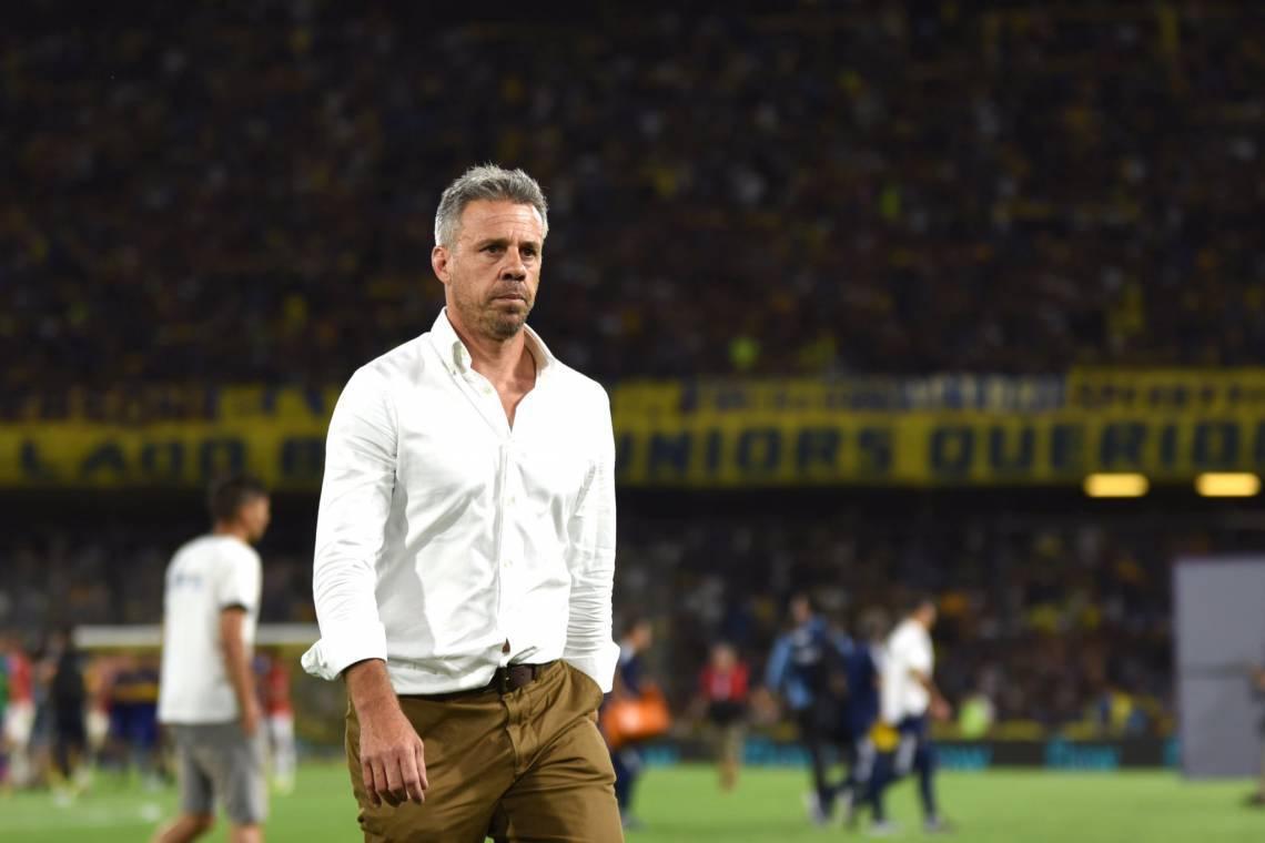 Lucas Pusineri está no comando técnico do Independiente desde dezembro de 2019