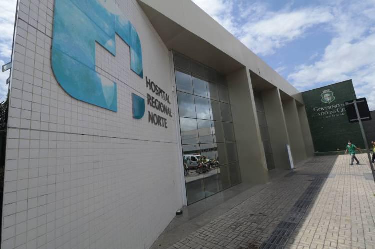 PACIENTE de 27 anos tem sido monitorado por um número restrito de profissionais do Hospital Regional do Norte, em Sobral