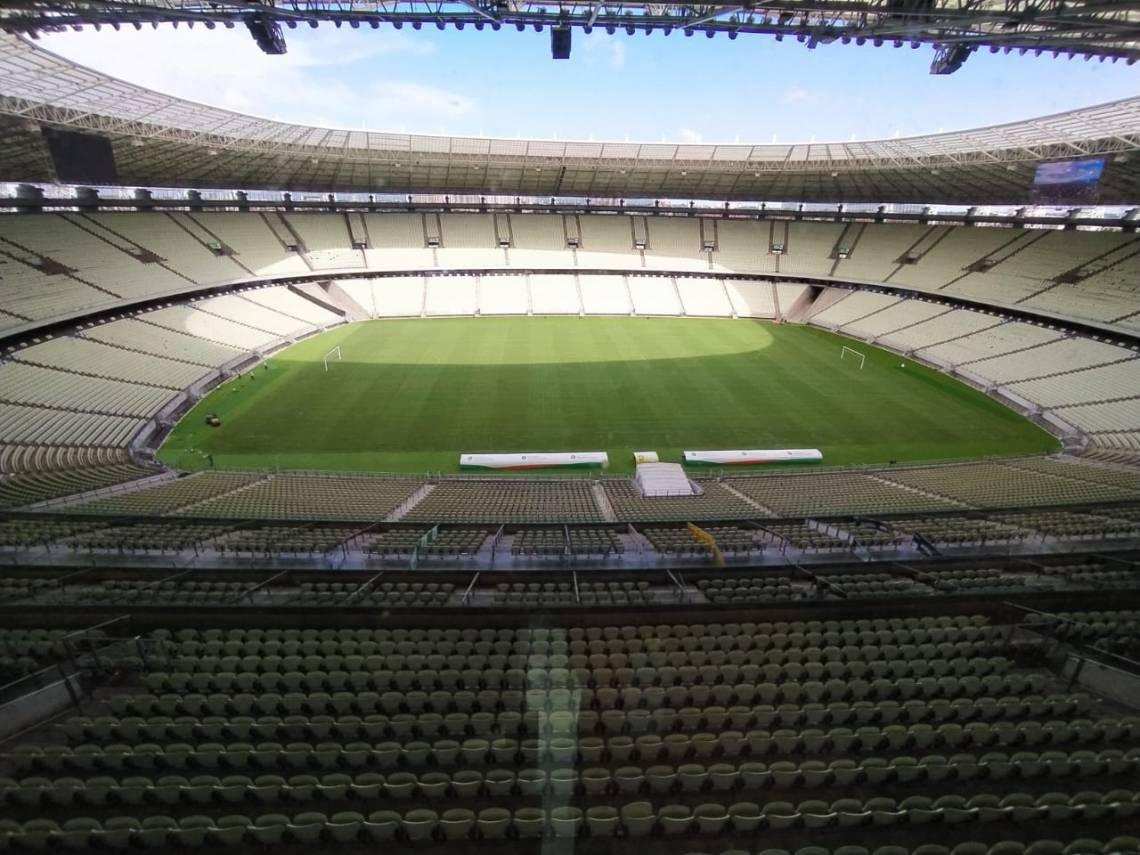 Jogo será disputado na Arena Castelão.