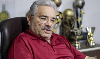 FORTALEZA, CE, Brasil. 31.01.2020: Mauro Carmélio, presidente da Federação Cearense. (Foto: Deísa Garcêz / Especial para O Povo)