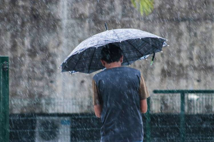 FORTALEZA, CE, BRASIL, 31-01-2020: Forte chuva em fortaleza na ultima sexta do mes de janeiro  (Foto: Thais Mesquita/O POVO)