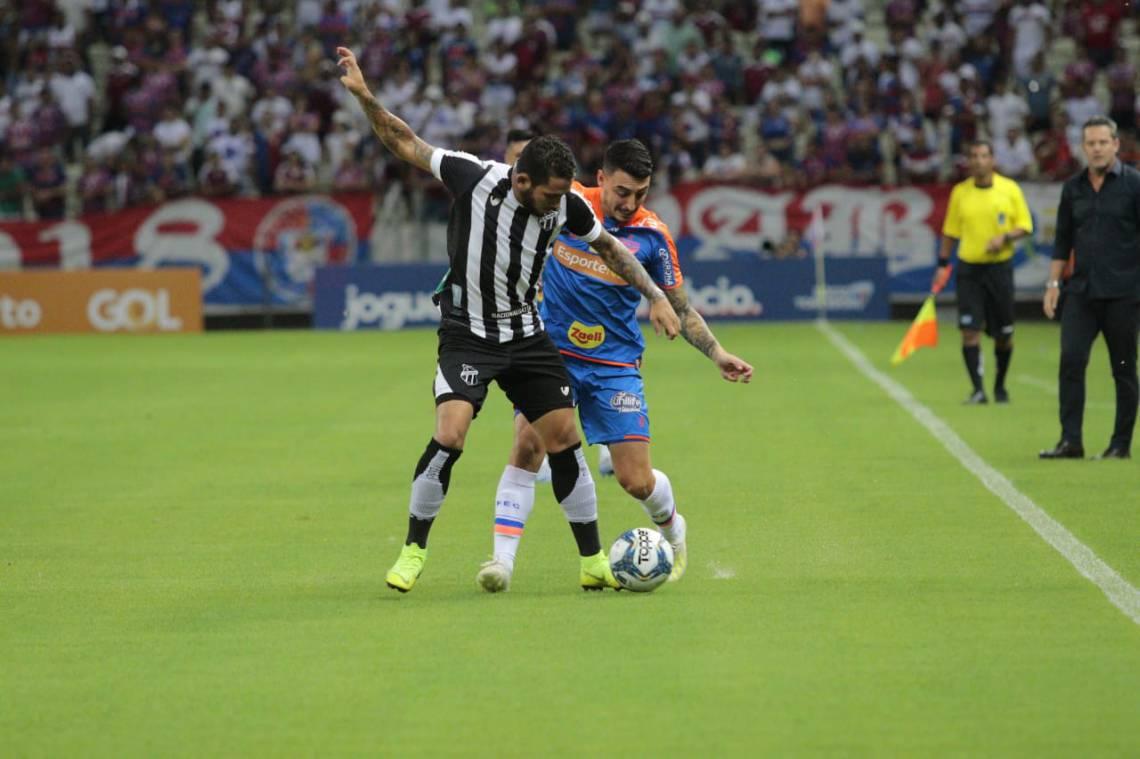 Ceará e Fortaleza empataram por 1 a 1 no primeiro Clássico-Rei de 2020