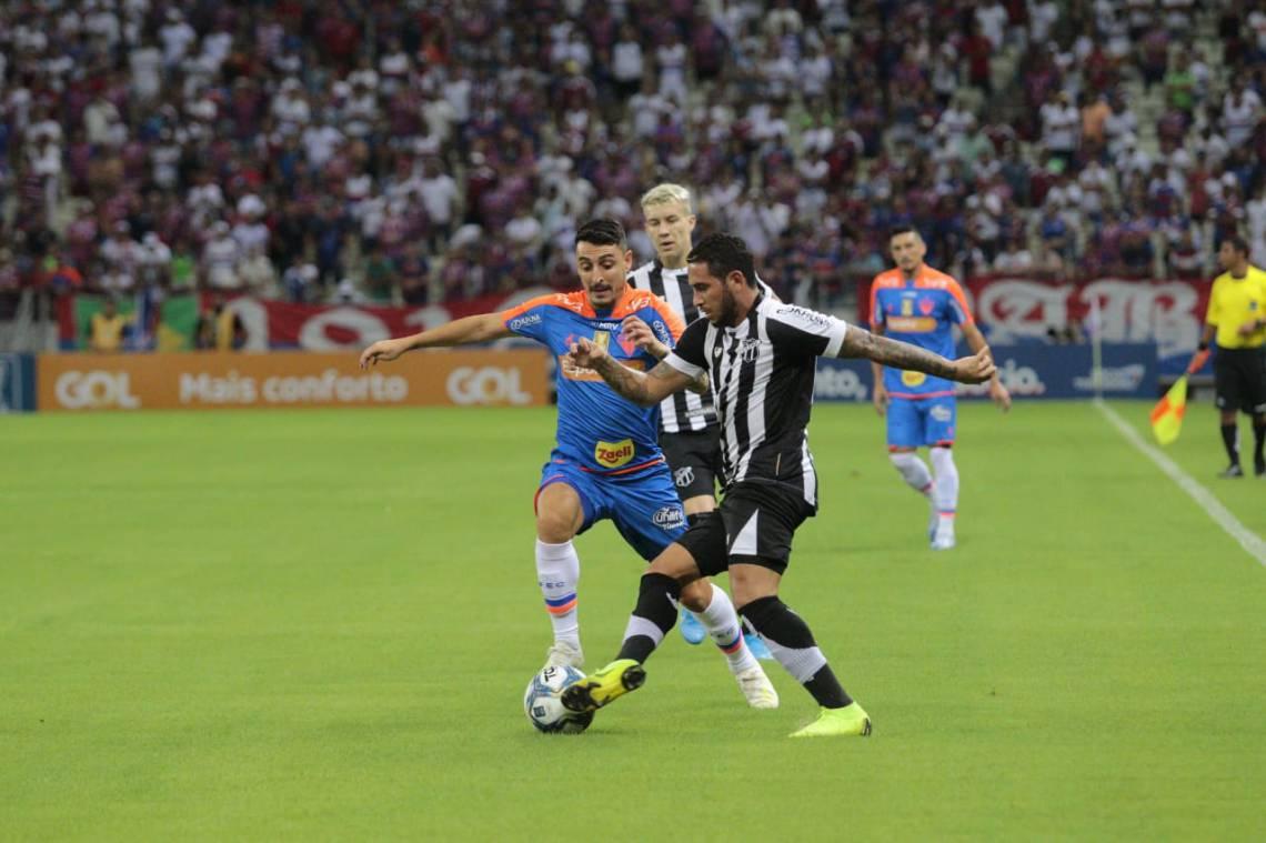 Ceará e Fortaleza têm jogos marcados para a mesma data no Castelão