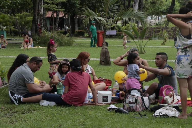 O Horto Municipal é um espaço de lazer da Prefeitura de Fortaleza   (Foto: MAURI MELO/O POVO)