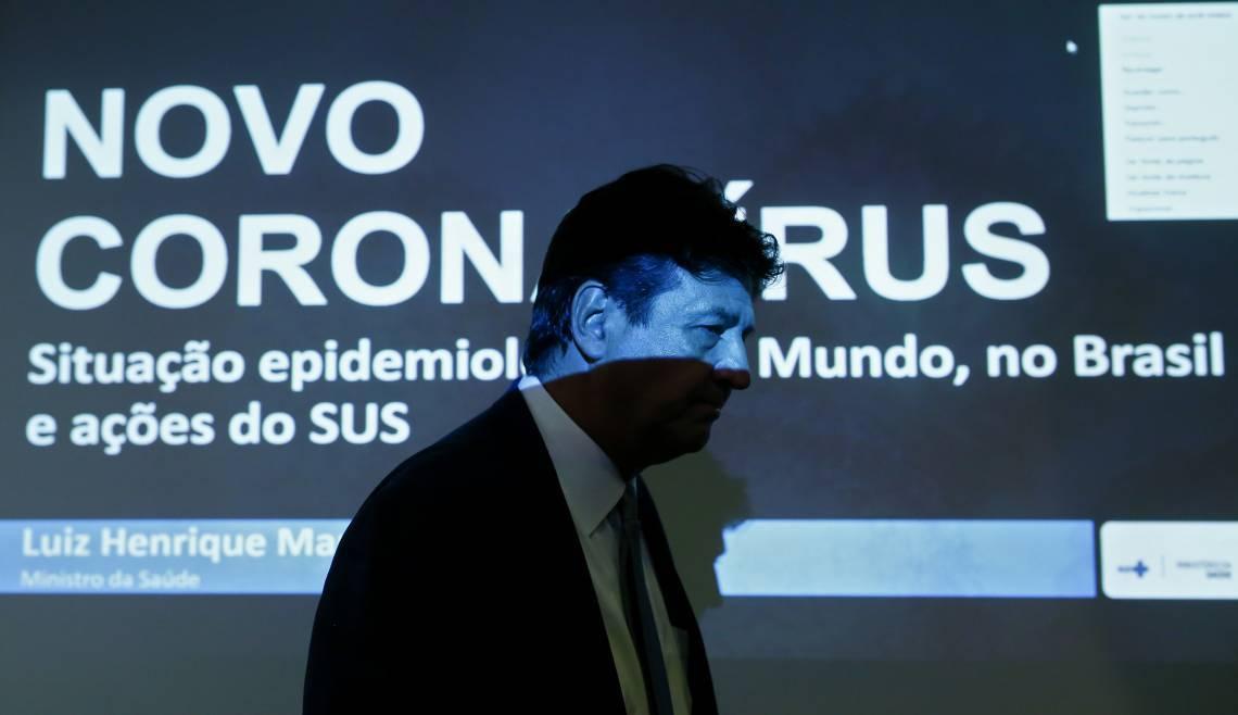 MINISTRO Luiz Henrique Mandetta foi tratado como trouxa
