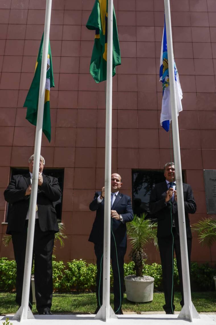 FORTALEZA, CE, BRASIL, 03.02.2020: Primeira sessão na Camara Municipal de Fortaleza com a presença do Prefeito Roberto Claudio  (foto: Thais Mesquita/O POVO)