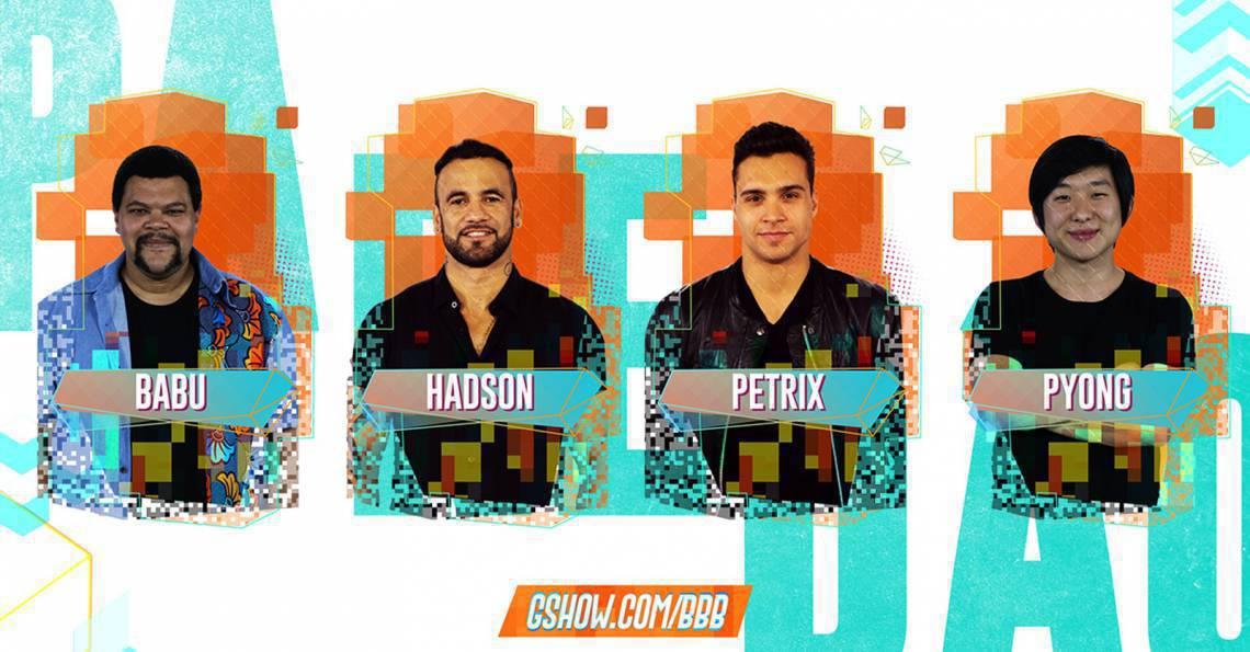 Petrix, Hadson, Pyong e Babu são os indicados ao paredão do BBB20. Vote na enquete