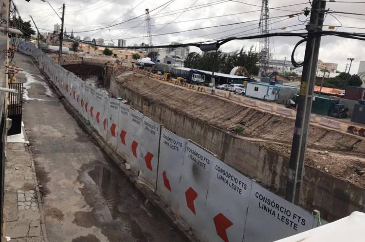 Casas foram desocupadas em caráter emergencial na sexta-feira, 31