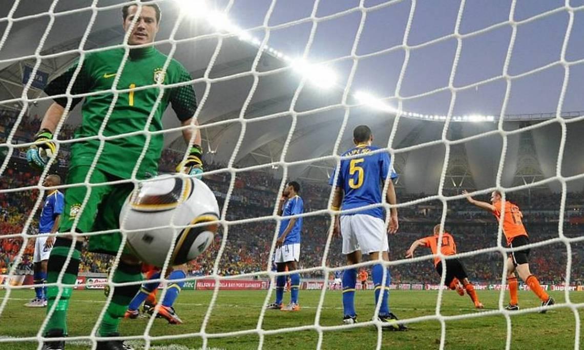 Brasil perdeu para a Holanda por 2 a 1