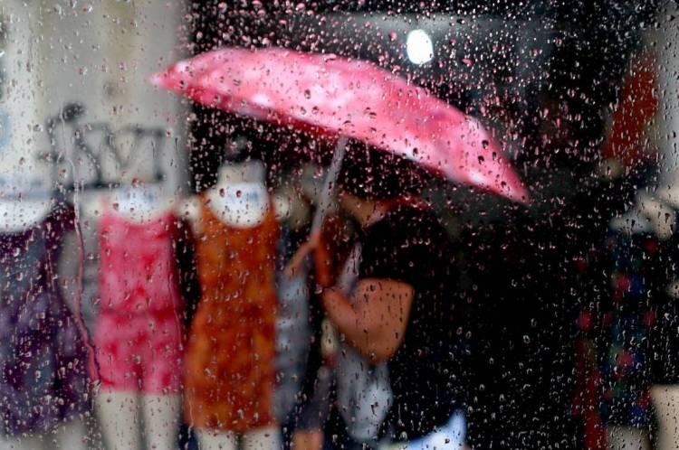 Manhã de chuva em Fortaleza