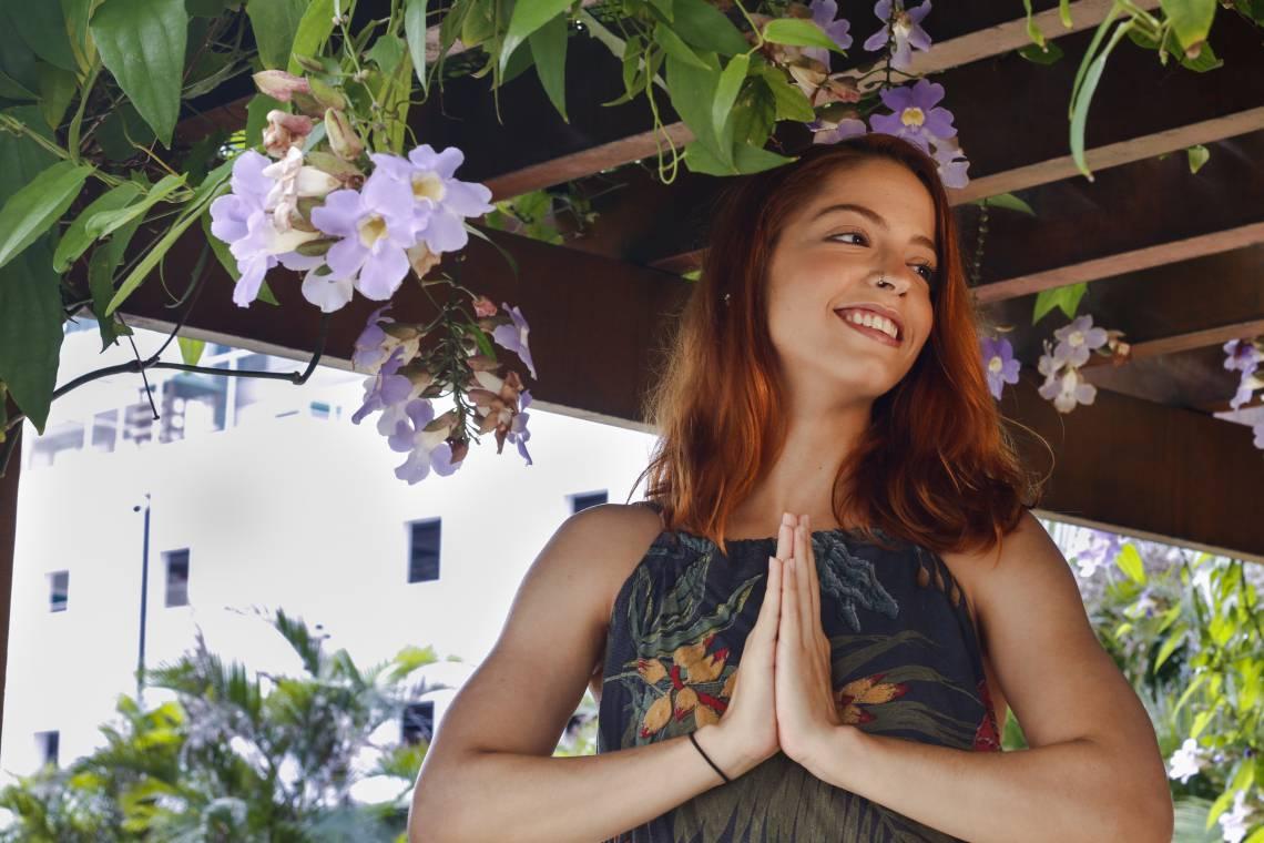 FORTALEZA, CE, BRASIL, 04-02-2020: Histórias de autoencontro através do veganismo. A estudante Tâmila Lima, conta para pause seu processo com o veganismo. Fátima, Fortaleza, Ceará(Foto:BÁRBARA MOIRA/O POVO)