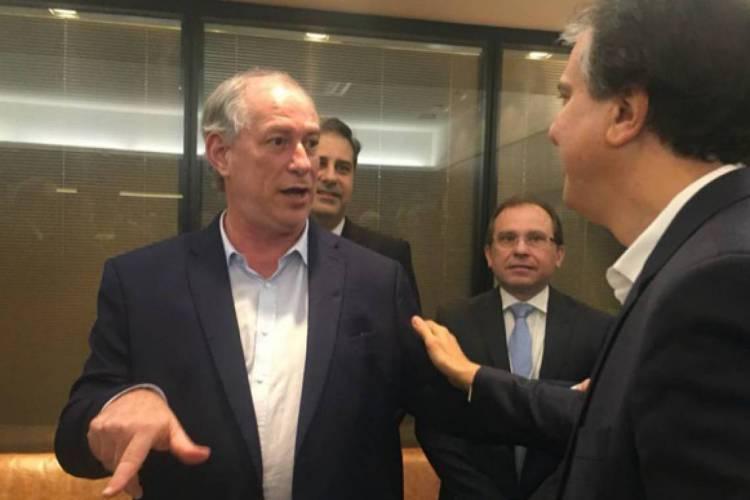 Ciro Gomes e Camilo Santana (Foto: PAULO MOSKA)