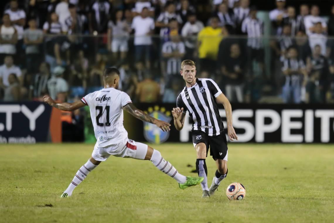 Jogo contra o Atlético passou do PV para o Castelão
