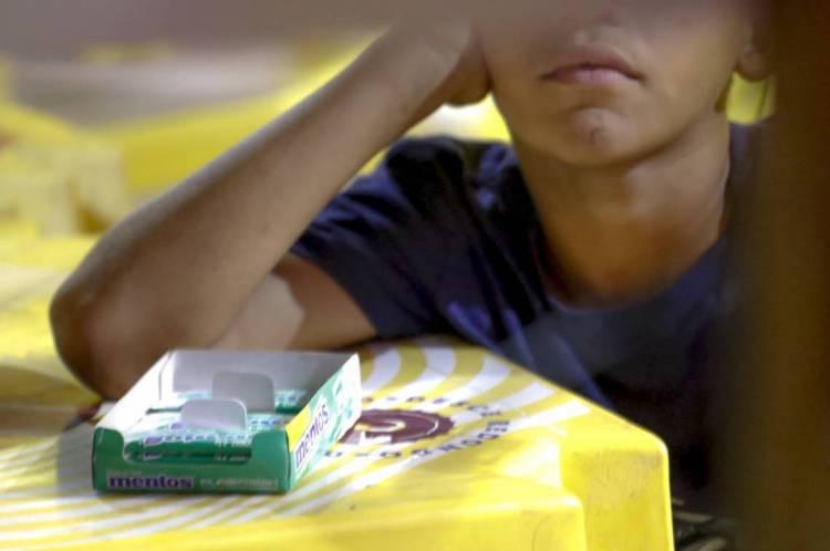 Trabalho Infantil na Avenida Beira Mar