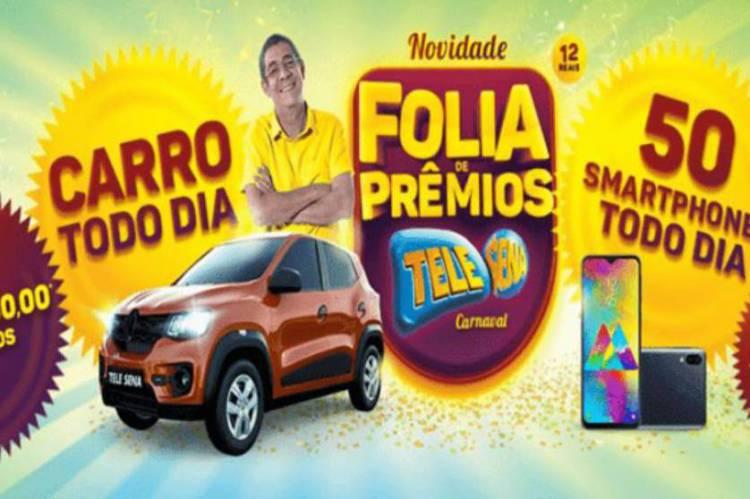 Resultado do segundo sorteio da Tele Sena de Carnaval 2020 de hoje, domingo, 09 de fevereiro (09/02)
