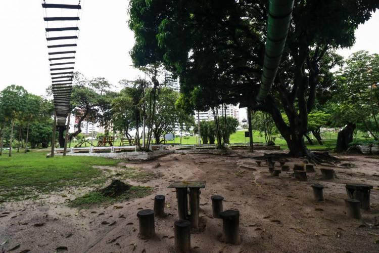 FORTALEZA, CE, BRASIL, 06-02-2020:  Parque do Cocó. A recomendação vale durante período de isolamento social devido pandemia da Covid-19 (Foto: Thais Mesquita)