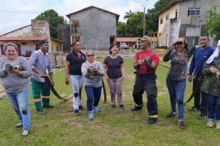 Hospital e Maternidade Santa Terezinha, localizado em Caucaia, recebeu o treinamento da brigada de incêndio